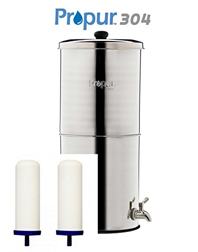 ProPur Big 304 Stainless + 2 ProOne-G 2.0 7'' Filter Elements - SCRATCH & DENT SALE! by ProPur