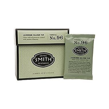 Wholesale Smith Teamaker Green Tea - Jasmine Silver Top - 15 Bags, [Food, Tea]
