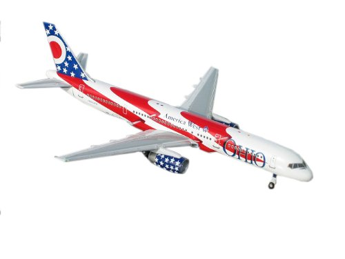 Gemini Jets America West (Ohio) B757-200 1:400 Scale (America West Airlines Gemini)