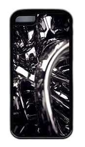Customized Case 3D Black 2 Black for Apple iPhone 5C