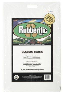 Rubberific Rubber Mulch Bagged Black