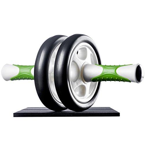 Ultrasport Buiktrainer AB Roller/AB trainer incl. kniesteun, buiktraining voor mannen en vrouwen, buikspierroller met…