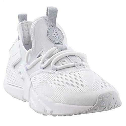 - Nike Mens Air Huarache Drift Breathe Textile White Pure Platinum Trainers 13 US