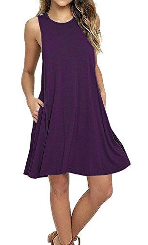 Comfort Purple Women Pencil Plus Summer Mini Pure Size Basic Coolred Dress wZPq5Cq