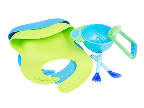 Price comparison product image Roo Threads Silicone Baby Bib Set