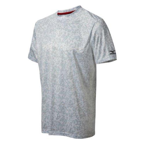 Mizuno デジ 迷彩 Tシャツ B0149FWC5Wホワイト Medium