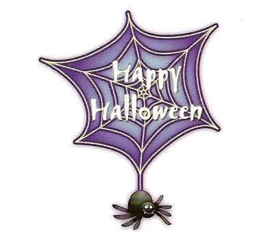 Happy Halloween Spider ~ Edible Image Cake Topper -