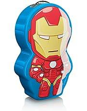 Philips Marvel Iron Man LED zaklamp, blauw/rood 717673516