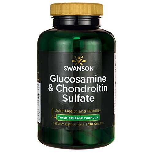 Swanson Timed-Release Glucosamine & Chondroitin Sulfate 750/600 Milligrams 120 ()