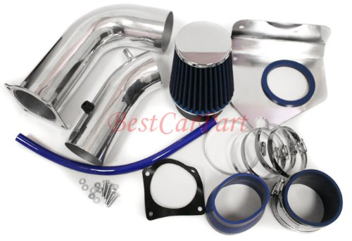 99 00 01 02 03 04 Ford Mustang V6 Cold Air Intake blue (Include Air Filter)FD-6B by High performance parts (Image #1)