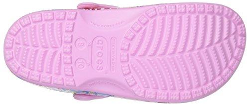 Classic Mixte Sabots Adulte Graphic Pink Clog Crocs Aqw7x7