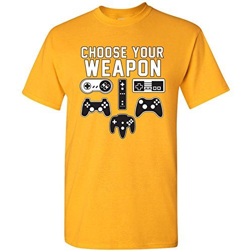 UGP Campus Apparel Choose Your Weapon - Gaming Console Gamer