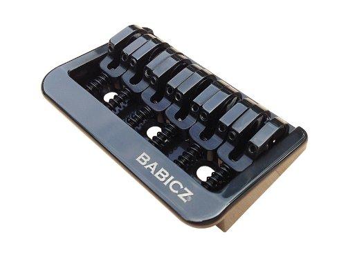 Babicz Fixed 6 Hardtail Guitar Bridge, Black FCHHT6BK