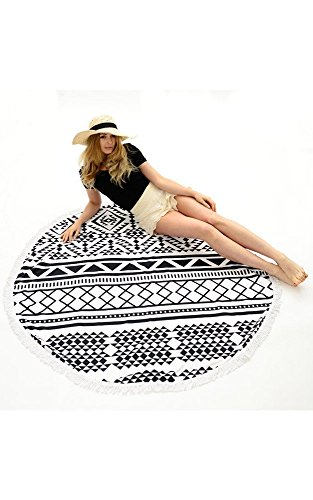 Be Your Own Style BYOS Summer Bohemian Mandala Round Beach S