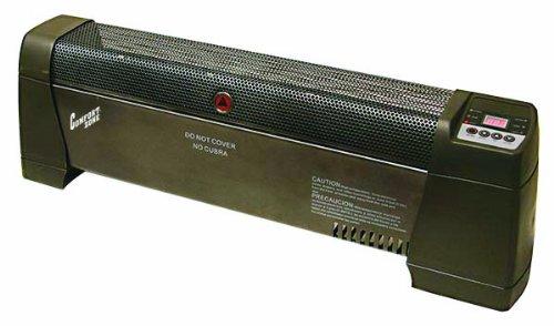 Comfort Zone® Low Profile Baseboard Digital Silent Operatio