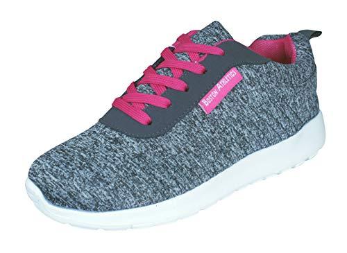 Athletics Deporte Mujer para Zapatillas Grey Boston de Rapide P8wnAq
