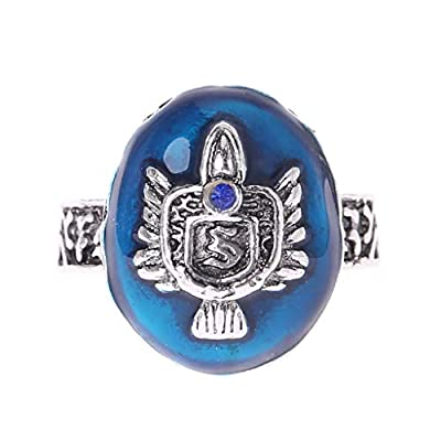 New 4 Size Vintage Damon/Stefan Salvatore Sun Family Vampire Diaries Crest Rings: Toys & Games