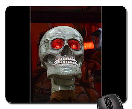 Mouse Pads - Skull Scary Horror Death Spooky