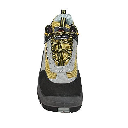 Piel de AIMONT Calzado para de hombre protección gris 6fqFqw