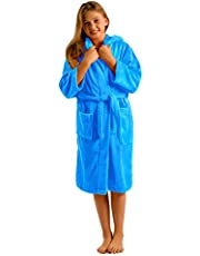 byLora Water Absorbent Microfiber Kids Hooded Robes