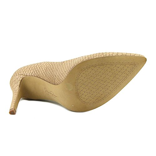 Jessica Simpson Womens Levin Pointed Toe Classic Pumps Nude J4E6c