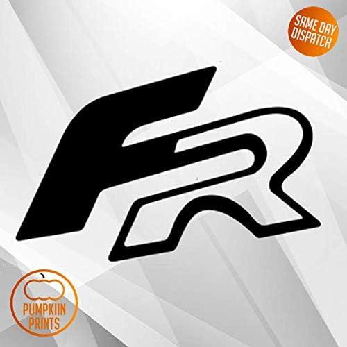 Pumpkiin Prints X2 Seat Leon Ibiza Fr Logo Aufkleber Emblem Aufkleber Vinyl Cupra Auto