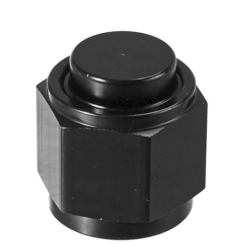 - Vincos 10AN an 10 Male Flare Cap Plug Nut Aluminum Block Off Fitting Adapter Anodized Black
