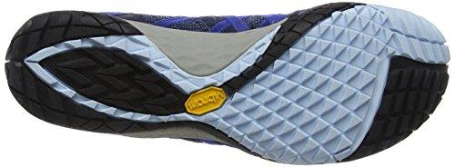 Merrell Men's Glove 4 E-Mesh Trail Running Shoes Blue (Sodalite) sgLDfYA