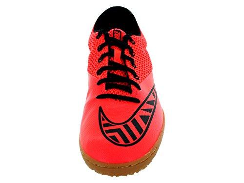 Nike Herren MercurialX Pro IC Hallenfußballschuhe Bright Crimson / Schwarz / Ht Lv / Blk
