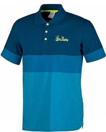 adidas Real Madrid de Hombre de Polo Camiseta, Hombre, Azul, Small ...