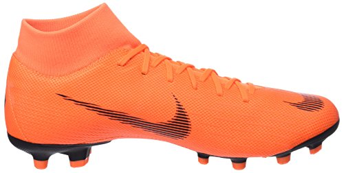 T Academy da Nike Black Multicolore Uomo 810 Mercurial Superfly Orange MG VI Scarpe Total Calcio ZaZcARwTqO