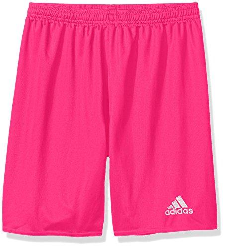 adidas Youth Parma 16 Shorts, Shock Pink/White, X-Large