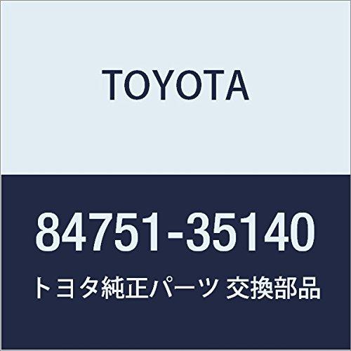 Toyota 84751-35140 Seat Heater Switch