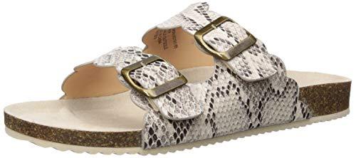 - XOXO Women's Lebanon Slide Sandal, Natural Snake, 10 M US