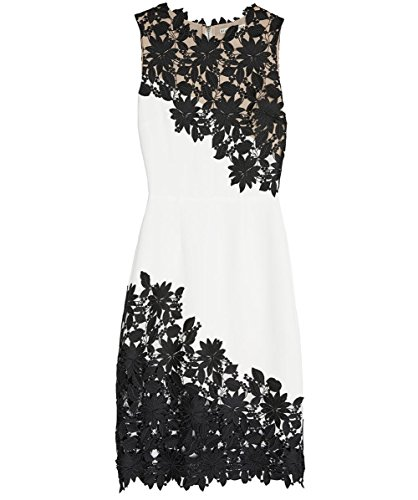 alice and olivia black cocktail dress - 6