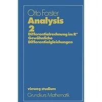 Vieweg Studium, Analysis 2. Differentialrechnung im IRn, Gewöhnliche Differentialgleichungen.