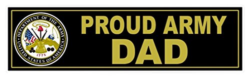 1 Pcs Superior Fashionable U S  Proud Army Dad Stickers Sign Car Decal Vinyl Wall Size 11  X 3