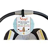 Baby Safety No Touching Newborn, Baby car seat tag,...