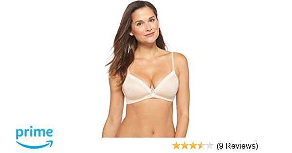 8656542c4d6cf Gilligan & O'Malley Women's Nursing Micro Wireless Bra with Lace (40D,  Mochaccino) at Amazon Women's Clothing store: