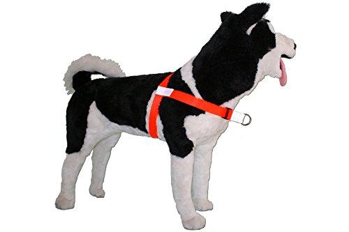 Image of No-Choke No-Pull Front-Leading Dog Harnesses, Sport Edition, 55-120 lbs, Hunter Orange