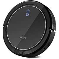 INLIFE i7 Self Charging Robotic Vacuum Cleaner (Black)