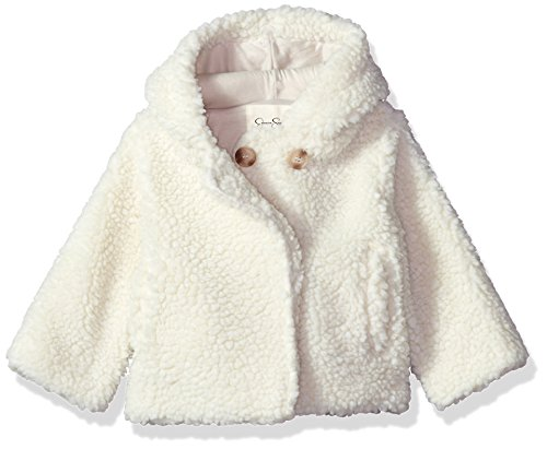 Jessica Simpson Baby Girls' Fashion Outerwear Jacket (More Styles Available), 8017-Cream, ()