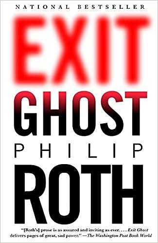 Exit Ghost Amazon Fr Philip Roth Livres Anglais Et Etrangers