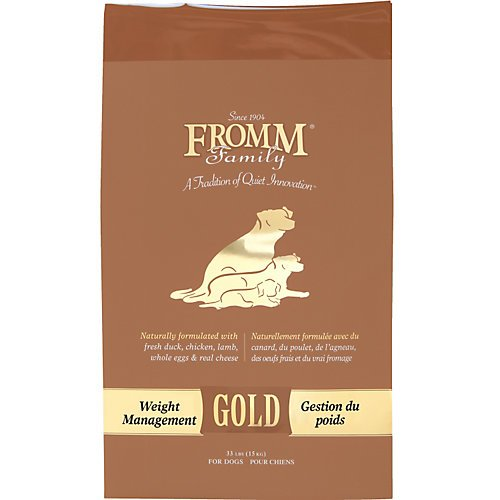 Fromm Gold Weight Management Dry Dog Food 15lb