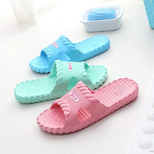 Uomini Qsy Blu La Casa Per Di Cielo Delle Shoe Bagno Pantofole Degli Donne Del Torsione Scarpe Domestiche Estate rqtTwrv