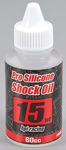 Pro Silicone Shock Oil 15 Weight (60cc) by HPI Racing
