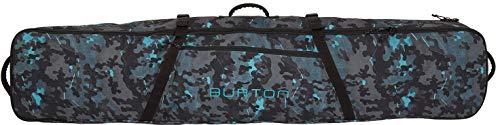 Burton Wheelie Board Case Snowboard Bag, Slate Shelter Camo Print, 166 cm