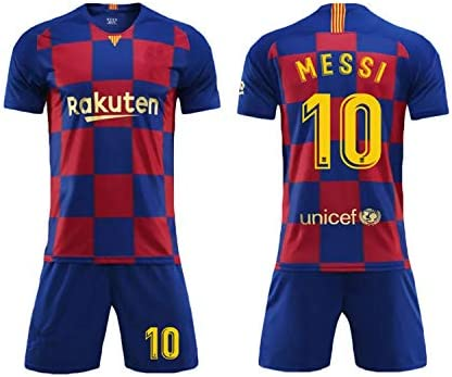 Camiseta Jersey Futbol Barcelona 2018-2019 Traje de niños Manga ...