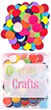 Arts & Crafts : Playfully Ever After 1 Inch Mixed Color Assortment 100pc Felt Circles
