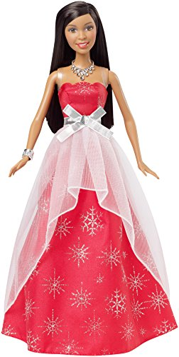 Barbie 2015 Holiday Sparkle Doll, Brunette